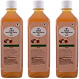 Lyrus Apple Cider Vinegar With Honey - 500 Ml (Pack Of 3)