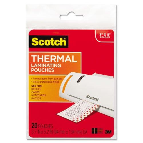 tp590220 index card thermal laminating