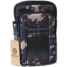 ENCACC Military Tactical MOLLE Phone Pouch Waist Belt Bag Pack Gear Messenger Shoulder Saddlebag Travel Bags Cases...