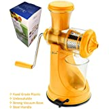Vivir Fruit And Vegetable Juicer With Steel Handle And Vacuum Base (Orange)