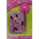 Disney Minnie Mouse Bow Tique Mini Diary With Pen