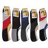 Q-Tex Loafer Socks Pack Of 5 Multi Color Size Free - B06XJHJZ5T