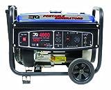 ETQ TG32P12 4,000 Watt 7 HP 207cc 4-Cycle OHV Gas Powered Portable Generator