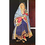 "Dolls Of India ""Nautch Girl"" Reprint On Paper - Unframed (91.44 X 58.42 Centimeters)"