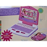 Oregon Scientific Electronic Barbie B-Book: Interactive Learning Laptop (60 Games & Activities; Mous