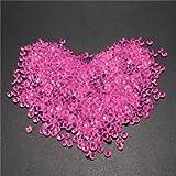 1000pcs 4.5mm Table Crystal Diamond Acrylic Crystals Diamonds Wedding Party Decoration-Rose