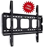 Mount-It! Low Profile Plasma & LCD TV Mount compatible with Samsung,