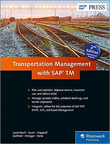 Transportation Management with SAP TM