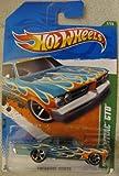 Hot Wheels 2011-57 '64 Pontiac GTO TREASURE HUNT Teal 1:64