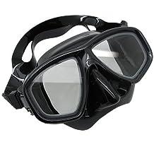 Scuba Choice Scuba Black Dive Mask FARSIGHTED Prescription RX Optical FULL Lenses