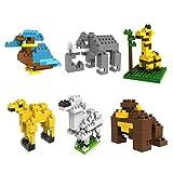 Last Innovation LOZ Animals Set Pack Of 6 Diamond Nanoblock Educational Toy 410pcs