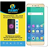 Gionee P7 Max Tempered Glass, [Transparent Clear Glass] [Edge To Edge Crash Protection] Curved [Scratch Proof] [Bubble Free] Tempered Glass Screen Protector For Gionee P7 Max - Ultra Clear
