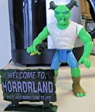 Set of 4 Goosebumps Monster Bags - Slappy the Dummy, Scarecrow, Mr Mortman, Horror From Horrorland - Action Figures