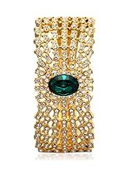 Eclat Brass Gold Plated Bracelet For Women New Fashion Jewelry (1112289GG)