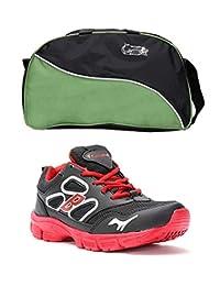 Elligator Shoes And Stylish Travel Bag