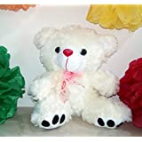 Small Toes Plush Teddy Bear Soft Toy Size 20 Cm (Off White)