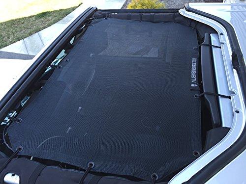 Alien Sunshade for Jeep Wrangler 2-Door or 4-Door – Covers Front Passengers