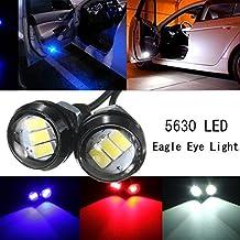 Alcoa Prime 2pcs 2. 4W 5630 3SMD120LM LED Eagle Eye Lamp Car Auto Up Reverse Lamp Interior Door Light DC12V 3...