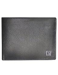 Style98 Genuine Leather Designer Wallet With Coin Pocket (Black) - B0190LO0U0