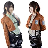 Shingeki No Kyojin (Attack on Titan) Leather Belts Cosplay Harnesses Deluxe Ver. (S (160-170cm))