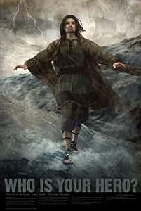 "Amazon.com: Christian Bible Hero Poster 24""x 36"" Matte ..."