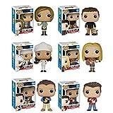 FunKo Friends Rachel, Ross, Phoebe, Chandler, Monica, Joey POP! Toy Figures Set of 6
