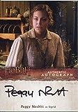 The Hobbit Desolation Of Smaug Autograph Card Peggy Nesbitt as Sigrid
