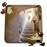 Danita Delimont - Terry Eggers - Staircases - Tiny Back Alley Stairway in the Town of Amalfi, Italy - 10x10 Inch Puzzle (pzl_189261_2)