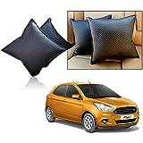 Car Vastra Cushion Pillow Set Black Color For Car & Home For - Ford Figo -2015