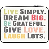 Snoogg Live BIG 2529 10 To 10.6 Inch Laptop Netbook Notebook Slipcase Sleeve