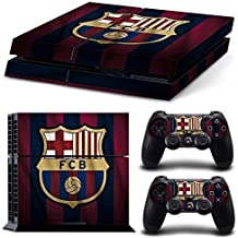 Elton Barcelona Soccer Team Theme 3M Skin Sticker Cover For PS4 Console And Controllers (Multicolor)