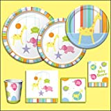 Mobile Animal Baby Shower Invitations