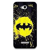 The Racoon Batman Printed Designer Hard Plastic Back Case For HTC Desire 616