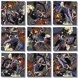 ROCKY MOUNTAIN WILDLIFE Scramble Squares by b.Dazzle