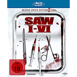 Saw I-VI – Blood Drive Edition für 35,99 €