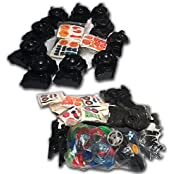 Beyblade 70x Random Grab Bag Lot Equipped With 9 Beyblades +Lr String Launcher+ Grip + Energy Rings + Face Bolts...