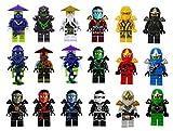 Ghost Ninja Golden Ninja 18pcs