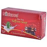 Nibharra Unisex Aloe Vera Saffron Soap (Pack Of 5 )