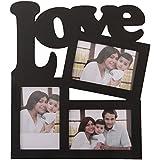 Delight Creations Wooden Photo Frame (32 Cm X 2 Cm X 35 Cm, Black)