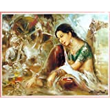 "Dolls Of India ""Music Magic"" Reprint On Paper - Unframed (41.91 X 31.75 Centimeters)"