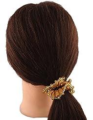 Anuradha Art Rust Colour Adorable Stylish Hair Accessories Hair Band Stylish Rubber Band For Women/Girls