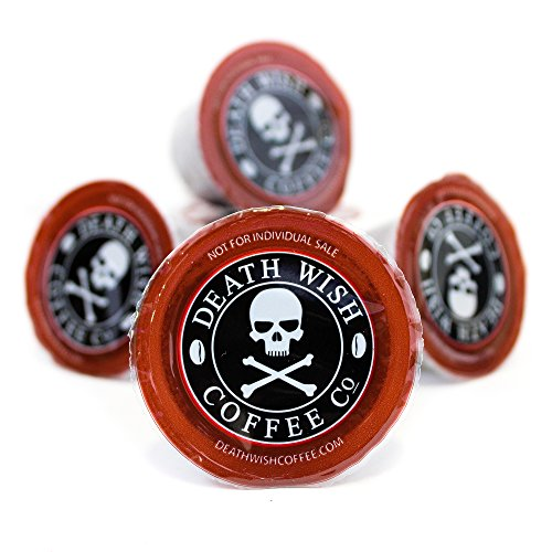 Death Wish Coffee Single Serve Capsules for Keurig K-Cup Brewers, 10 Count...