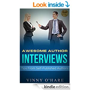 awesome author interviews book cover