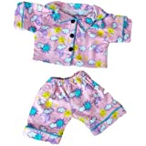 """Sunny Days Pink Flannel Pjs Clothing Fits Most 8""""-10"""" Webkinz, Shining Star And 8""""-10"""" Make Your Own"""