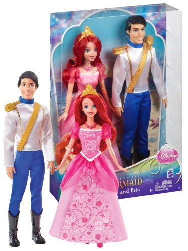 Disney Princess Ariel And Eric Day Out Dolls Gift Set