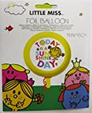 little miss sunshine round foil helium balloon 45cm (MISTER MR. MEN) by Gemma