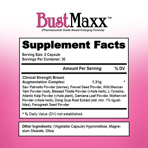 bustmaxx supplement facts