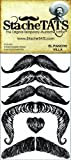 StacheTATS The Pancho Villa Temporary Mustache Tattoo