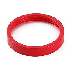 UNIQUEBELLA Colored Lip Ring for Magic Bullet Blender Juicer outside Diameter 3.3 Inch Red