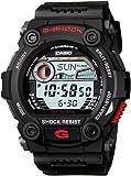 CASIO G-Shock G-7900-1ER - Reloj de caballero de cuarzo, correa de resina color negro (con cronómetro, alarma, luz)